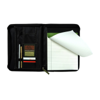 Eco100 Recycled Deluxe A4 Zippered Compendium