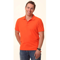Ladies and Men's Cooldry Solid Colour Pique Polo