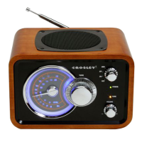 Super Bomber Mono AM/FM Radio